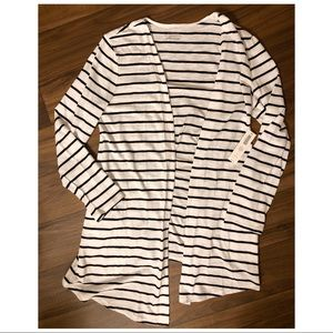 Chico's Striped Cardigan, NEW WITH TAGS